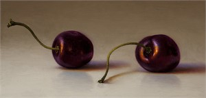 Two Bing Cherries, 2012