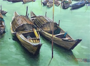 Chinese Boats 17