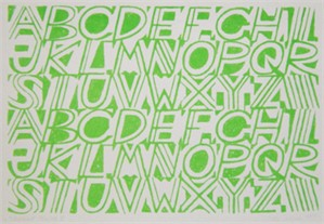 Alphabet (Green)