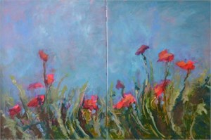 Beauty Will See You Through (Diptych)
