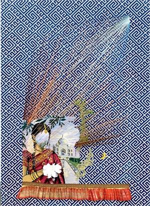 Dueling Rays by Suchitra Mattai