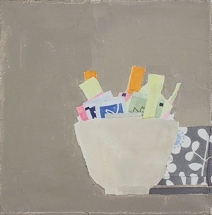 Still Life with Sugar Packets and Box by Sydney Licht