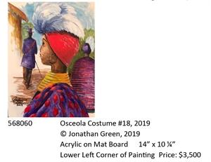 Osceola Costume #18, 2019