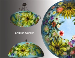 "Display English Garden 30"" Ring - S"