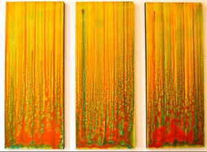 Phoenix Rising Triptych