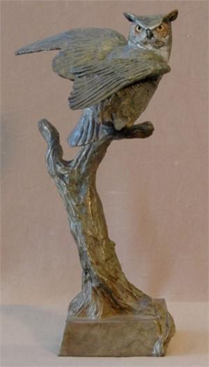 Horned Owl I (6/75)