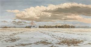 Snowfields Near Kearney #2, 2002