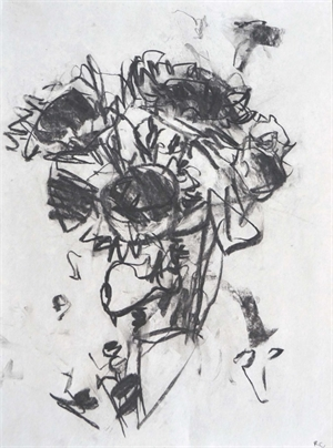 Vertical Sunflower Study