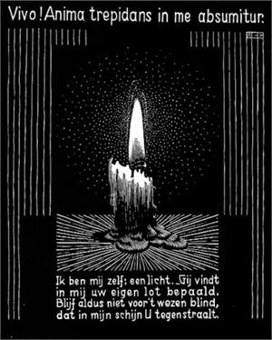 Emblemata - Candle Flame, 1931
