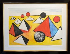 Pyramids and Circles, c. 1970