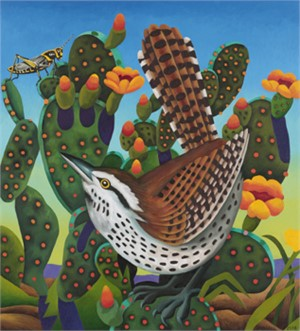 Cactus Wren (Eye on the Prize)