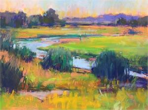 Celery Fields 1 study by Linda Richichi