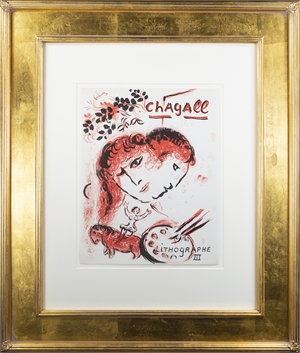 """Front Cover of """"Chagall Lithographe III,"""" M 577 (Edition of 10,000), 1969"""