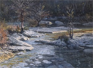 Frio at Garner, Evening, 2017