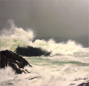 Crashing Wave - Monhegan