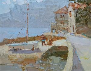 Bay in Kotor