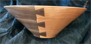 Walnut & Cherry Dovetail Bowl