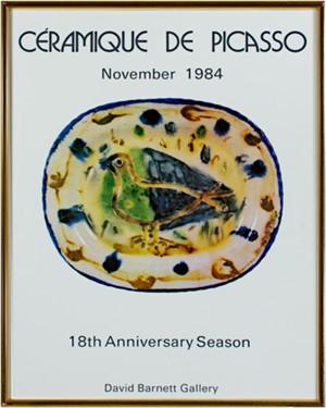 Ceramique de Picasso, 1984