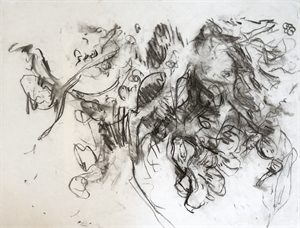 Flower Drawing 02, 2011