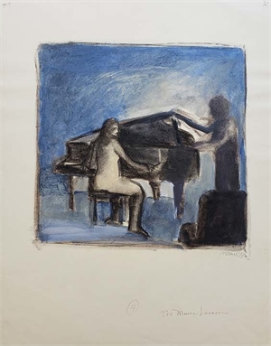 The Music Lesson, 1983