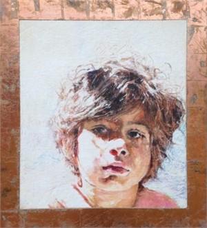 Portrait of Samuel (Sun Boy) by Mark Gaskin