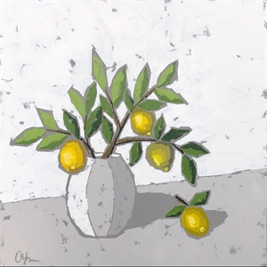 Lemons In Pottery, 2019