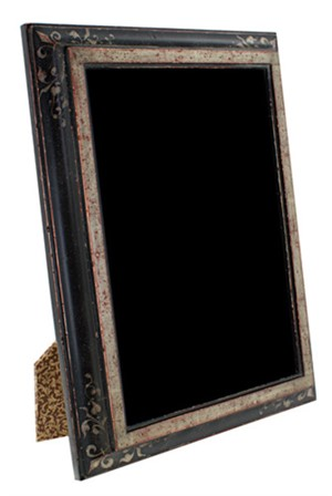 12K WHITE GOLD LEAF HANDMADE PHOTO FRAME 4X6 (Vertitical -or- Horizontal), 2011