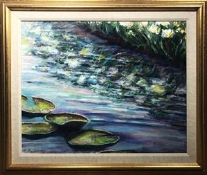 Reflections of Lake Van Tribute to Arshile Gorky, 1996
