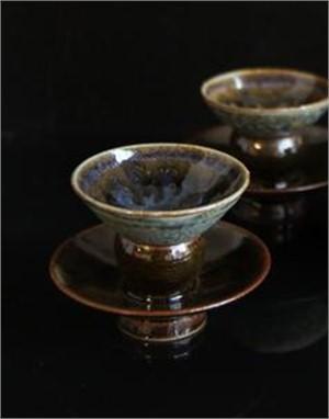 Sake Cup & Saucer Set