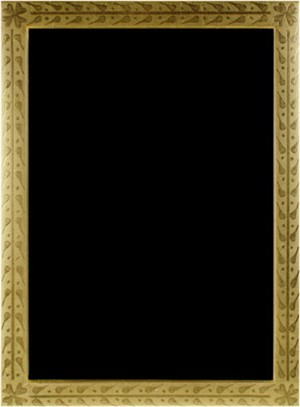 22K GOLD LEAF HANDMADE PHOTO FRAME 5X7 (Vertical -or- Horizontal), 2011