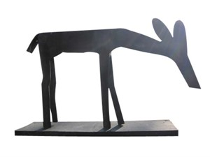 Sculpture: Deer, 1984