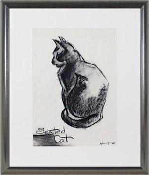Seated Cat, c.1950