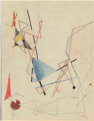 Triangles, Circles, Lines, c. 1938-40