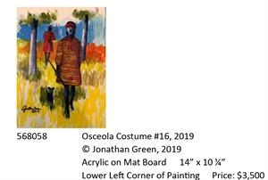 Osceola Costume #16, 2019