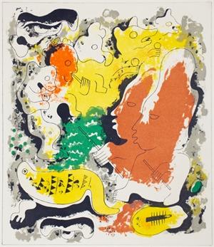 Estampas de Popol Vuh (Plate VIII), 1943