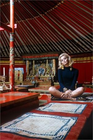 Outer Mongolia: Gandan Monastry in Ulan Bator (Edition 12/100), 1966