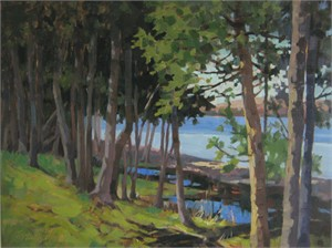 Lake Charlevoix Trees