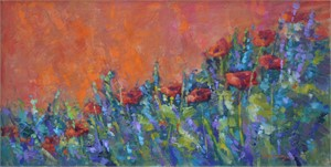 Poppies in the Morning (Tuscan Poppies)