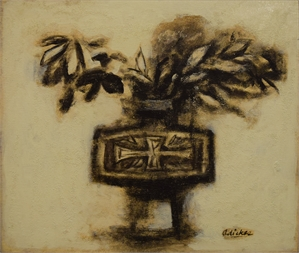 Vase and branches, Kyoto , 1958