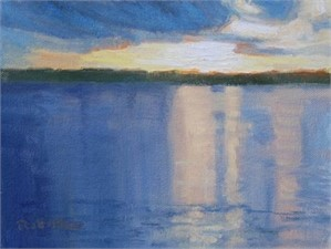 Reflections on the Lake, Study