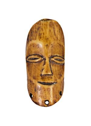 Lega Tribe Ivory Mask Zaire, c. 1890