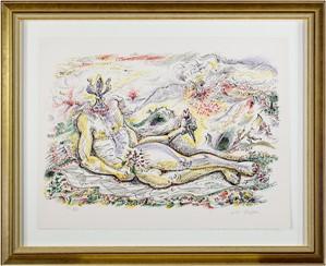 Le Prince Iris from Je Reve (I Dream) Portfolio (H.C. XXV/XXV), 1975
