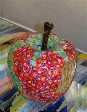 Apple with Bite, 2014