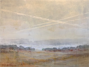 Contrails by Mary Miller Veazie