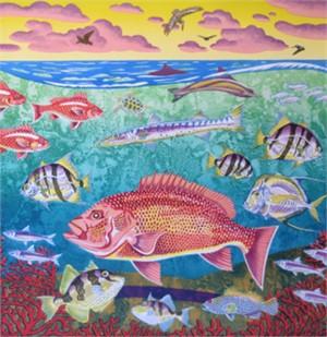 Blue Water Reef (16/30), 2016
