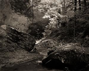 (#114) Stream below Ash Cave II  (1/34) by Frank Hunter