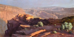 The Goosenecks at Capitol Reef by Ocean Quigley