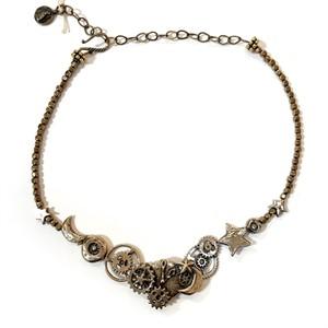 Necklace - Clockwork in Bronze (31524), 2018