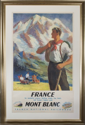 France,  Mont Blanc, for Wonderful Scenery, Thrilling Climbs, Fine Hotels & Europe's Highest Peaks, 1948