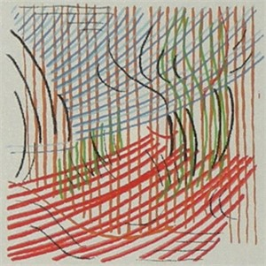 Linescape (artist proof (3)/18), 1970